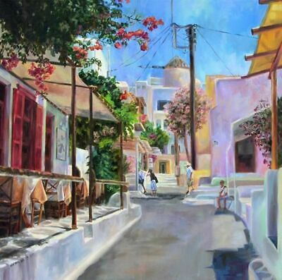 Little Venice Van-go Paint-By-Number Kit N128 Greece Mykonos
