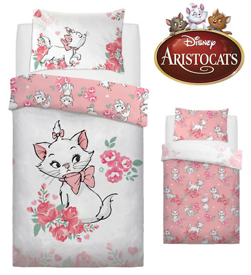 DISNEY ARISTOCATS MARIE DUVET COVER SET SINGLE BED 'Oh Laa Laa' Limited Edition