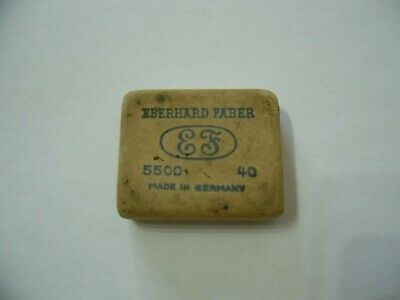 Gomma Pubblicitaria Rubber Advertising Eberhard Faber Made In Germany.