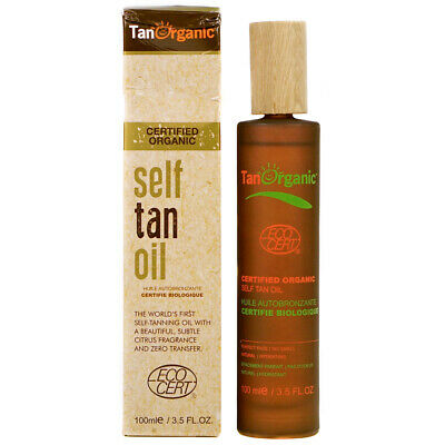 TanOrganic 100ml Self Tan Oil