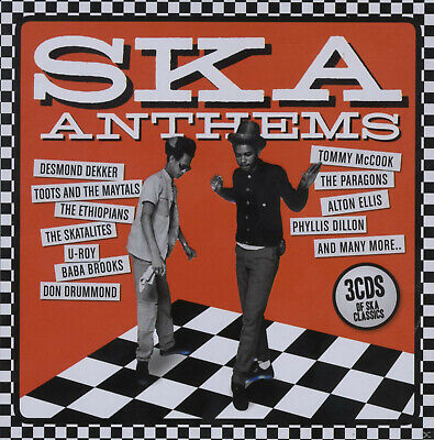 VARIOUS - Ska Anthems (Lim.Metalbox Edition) [CD]