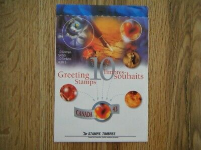 Canada#1508a BK#166 MNH Booklet 'Greetings-1' Lot#71