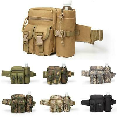 Tactical Water Bottle Wait Pack Bag Military Molle Pouch Fanny Pack Bumbag