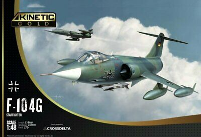 KINETIC LIMITIERTE VERSION  F-104G Germany Air Force and Marine in 1:48