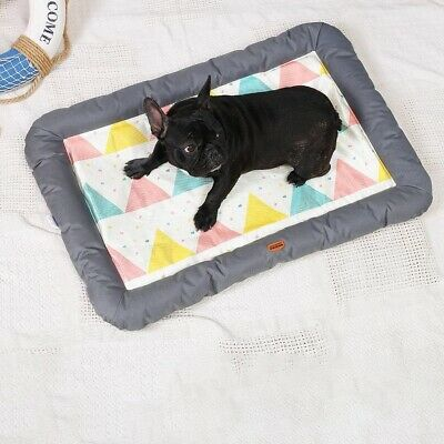 Dog Cooling Mat Bed Summer Heat Relief Cushion Pad Cat Sleeping Pet Supplies