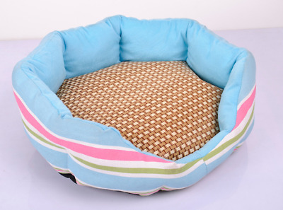Slleping Bed For Dog and Cat Cooling Mat Bed Puppy Doggie Cushion Oval Mats