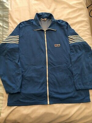 Fila OG 5 Stripe Made In Italy US44 ptp 25 Vintage 80's Casuals Tennis