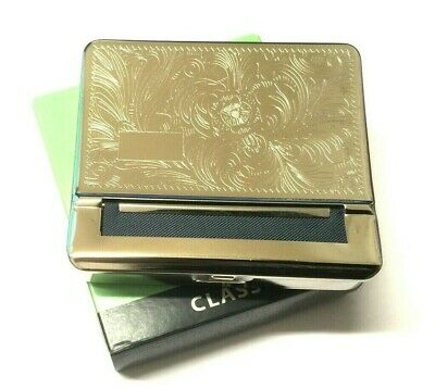 Mascotte Quality Automatic Silver Rolling Machine Metal Cigarette Roller Tin