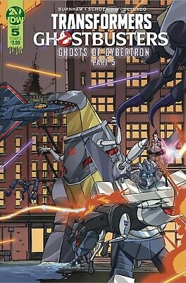 Transformers Ghostbusters #5 (Of 5) Cvr A - Idw - M102 - Preorder 16.10.2019