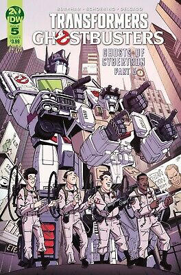 Transformers Ghostbusters #5 (Of 5) Cvr B - Idw - M103 - Preorder 16.10.2019