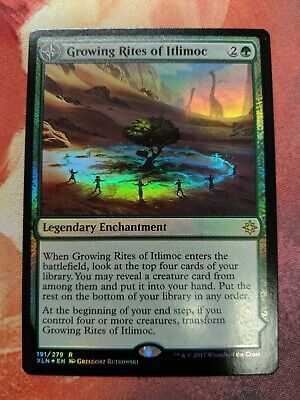 Buy-a-Box Promos Growing Rites of Itlimoc FOIL      Mtg Magic English