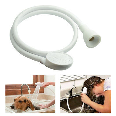 Robinet Simple Lavabo Douche Tête Chien Animal Lavage Support Fixation Tuyau