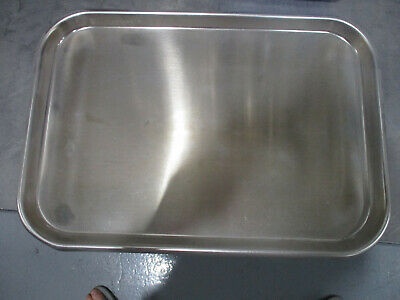 "Stainless Steel Medical Tray, Mayo Stand Tray, Tattoo Tray 15"" x 10.5"""