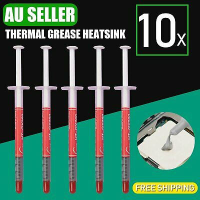 10x Thermal Grease Heatsink Compound Paste Heat Sink CPU GPU VGA Syringe Network