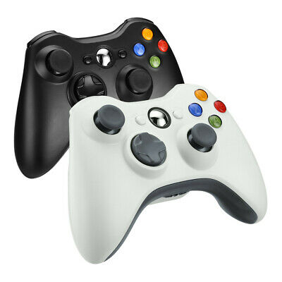 Wired Wireless Game Controller Gamepad Joystick for Microsoft Xbox 360 PC 7 8 10