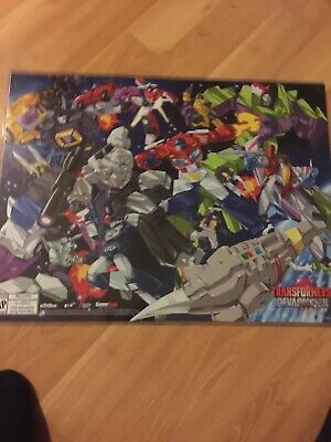 "SDCC 2015 Exclusive Transformers Devastation 24"" x 19"" Poster"