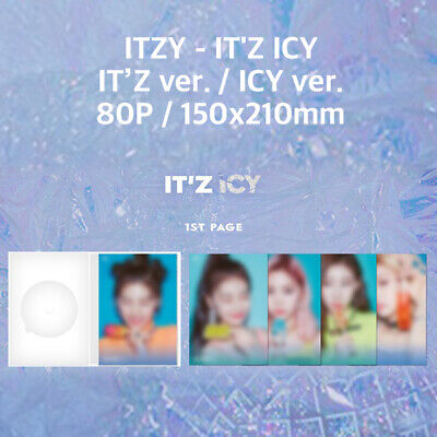 ITZY - IT'Z ICY IT'Z ver. / ICY ver. MINT CONDITION NO PHOTO CARD