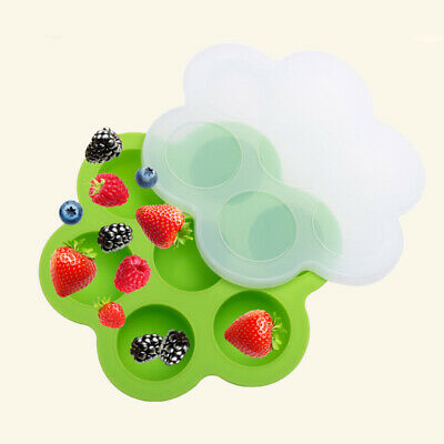 GN_ Baby Food Container Infant Fruit Breast Milk Storage Box Freezer Tray Crispe