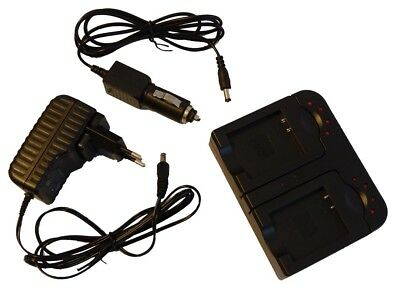 2in1 CHARGEUR SET POUR OLYMPUS VG110 VG-110 VG120 VG-120