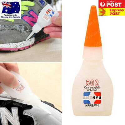 502 Super Glue Instant Cyanoacrylate Adhesive Super Strong Fast Repair Tool