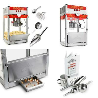 Olde Midway Commercial Popcorn Machine Maker Popper With Large 12-Ounce Kettle -