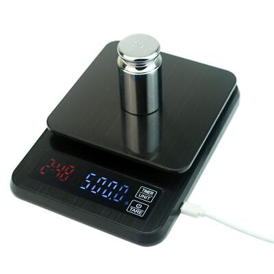 kitchen scale 5kg/0.1g 10kg/1g LCD Digital Drip Coffee Scale with Timer weight