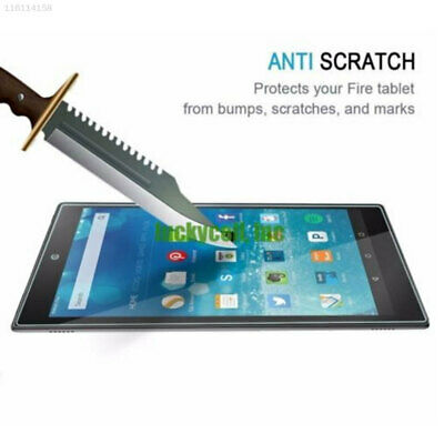 Dustproof Tempered Glass Screen Protector Protective For Amazon Kindle Fire HD10