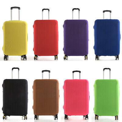 """Protective Travel Elastic Luggage Suitcase Dustproof Cover Protector Case 18~30"""""""