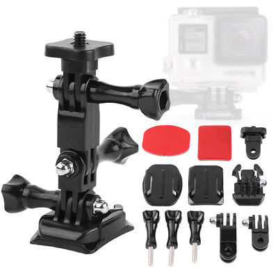 11 in 1 Action Camera Accessories Curve Mount Quick Release Buckle For GoPro STP