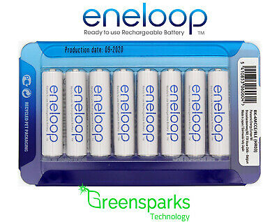 8x Panasonic Eneloop rechargeable LSD NiMH AAA batteries *Made in Japan*