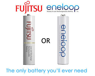 1-30x Panasonic Eneloop rechargeable NiMH LSD AAA batteries *Made in JAPAN*