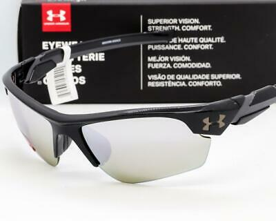 UNDER ARMOUR WINDUP SUNGLASSES UA Youth Kids Fit - Black / Gameday Mirror lens