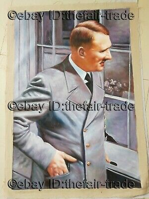 Hand Painted Oil Painting World War 2 Germany Collection Item Stuff German Gift