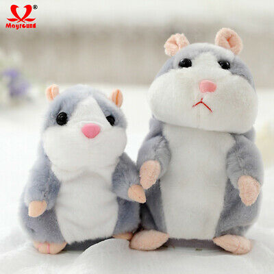 Cheeky Hamster Repeats What You Say Electronic Pet Talking Plush Toy Cute Gift