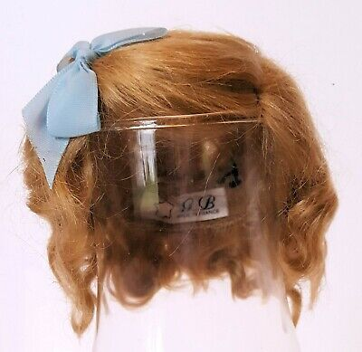 Imported French Mohair Wig - Clemence - For German Size 1 Dark Blond
