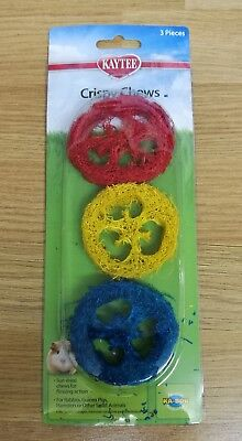 Rabbit Chew Play Toys Gnaws Crispy Boredom Breaker Also For Guinea Pigs Rats Etc