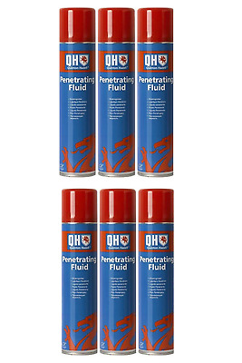 6 X QH Penetrating Fluid 400ml