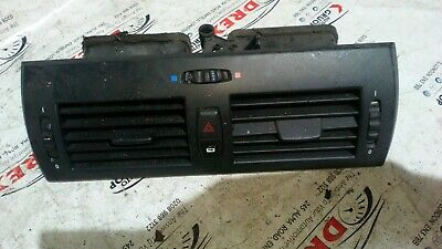 BMW X3 E83 PRE LCI DASHBOARD CENTRE AIR VENT WITH HAZARD WARNING SWITCH 3400074