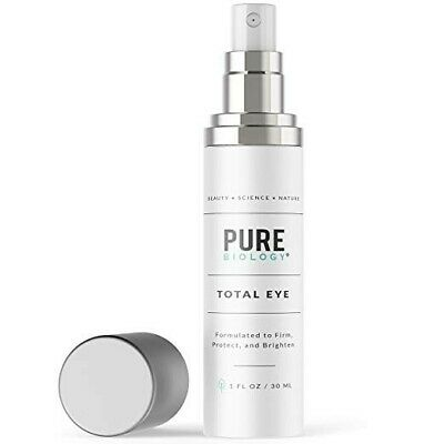Eye Cream with Vitamin C + E, Hyaluronic Acid & Anti Aging Complexes 1oz