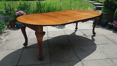 Victorian Large Extending Mahogany   D End Dining Table Joseph Fitter Mechanism