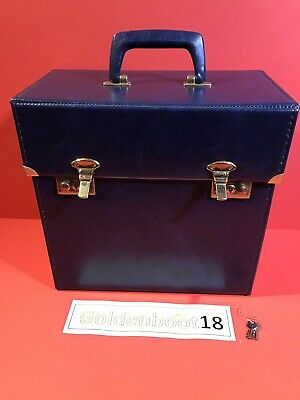 "Vintage 12"" Record Vinyl Navy Blue Beau Brummel Storage Box Case Northern Soul"