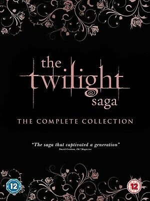 The Twilight Saga: The Complete Collection (Box Set) [DVD]