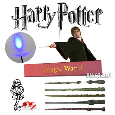 "Harry Potter Hogwarts Wizard 14"" LED Wand Scarf Tie in Box for Cosplay Costume"