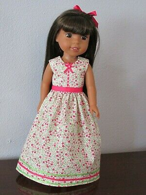 "Dress for Wellie Wishers 14"" Doll--101"