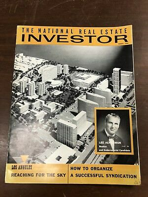 60 National Real Estate Investor Magazine Los Angeles Ca Mid-Century Commercial