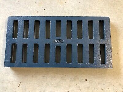 Zurn P662-Grate-USA Replacement Rectangle 24x12 Grate (Cast Iron)