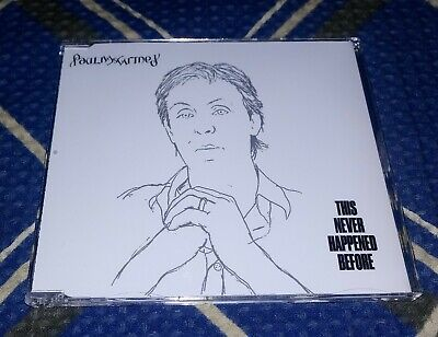 CD Single Paul McCartney - This Never Happened Before /// 2005