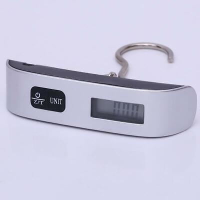 50kg/110lb Portable Travel LCD Digital Hanging Luggage Scale Weight Electronic .