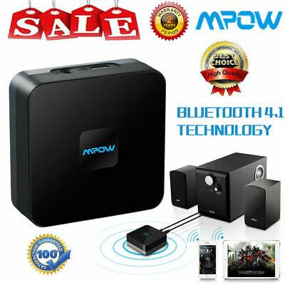 Mpow Wireless Bluetooth Receiver Audio Adapter HIFI Stereo Sound + NOISE CANCEL