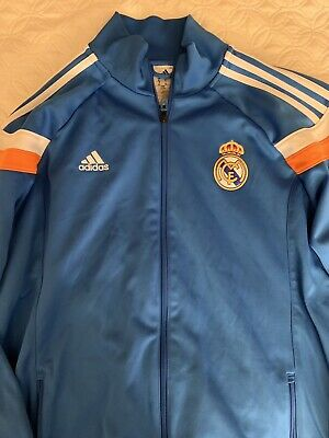 VTG ADIDAS REAL Madrid Full Zip Track Top 20002001 Size XL